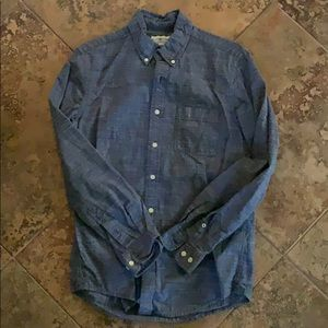 Blue Men's Button Down
